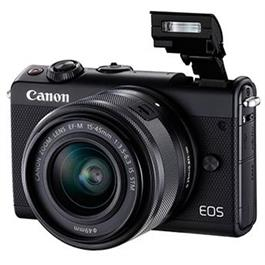 Canon EOS M100 Body With EF-M 15-45mm f/3.5-6.3 IS STM Lens - Black Thumbnail Image 5